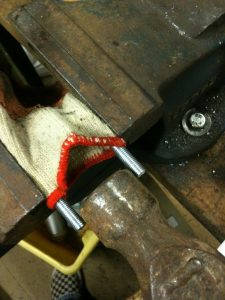 Tighten the new U Bolt against the chosen spacer