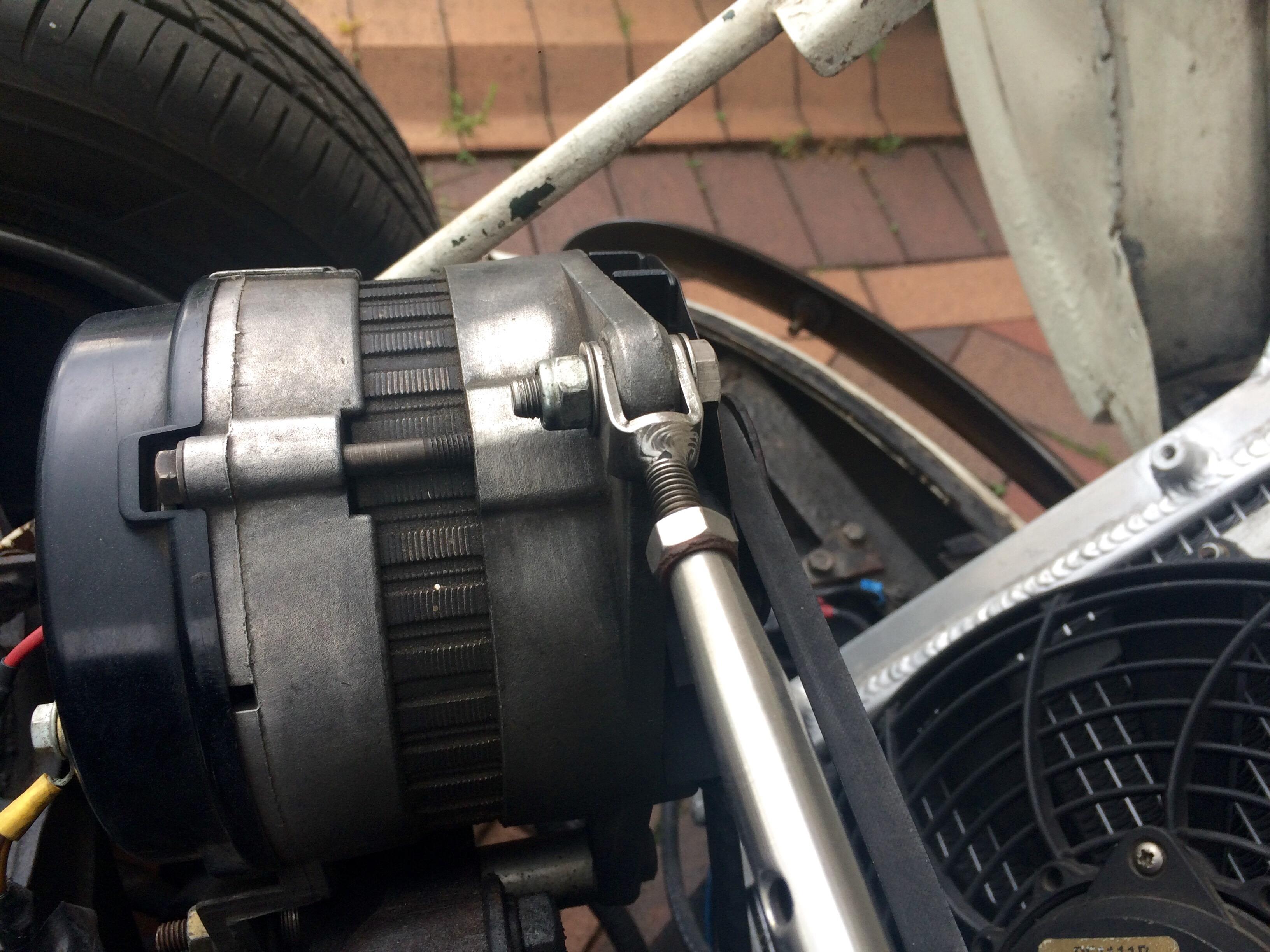 Gt6 Spitfire Diy Alternator Bracket Improvement My Quick Fix Re Conversion The